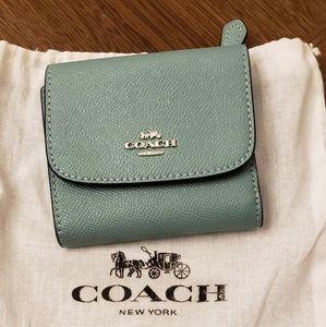 Coach Small Wallet Pristine Condition